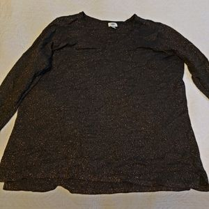 Old Navy black and gold knit sweater 4x plus